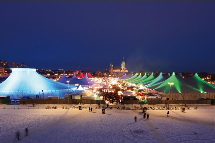 Das Tollwood Winterfestival 2010 auf der Theresienwiese München (Foto: Sigi Müller)