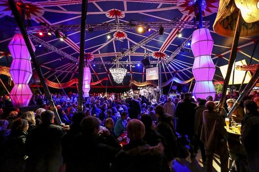 Der offizielle Nachfolger der Eisbärenlounge: Der Festivalclub