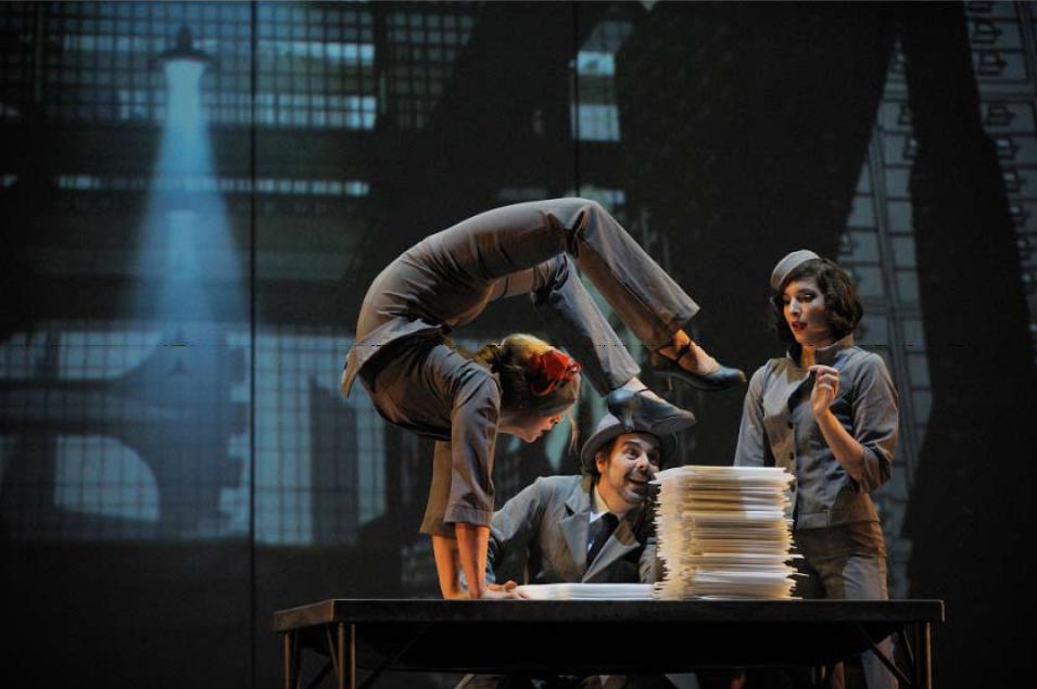 Eine Akrobatik-Show als Programm für Ihre Weihnachtsfeier